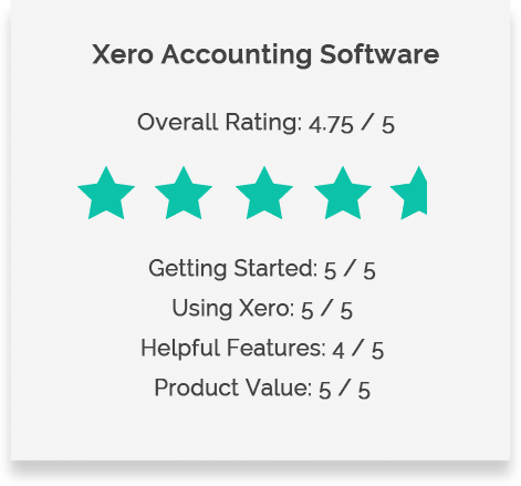 Xero Review Rating