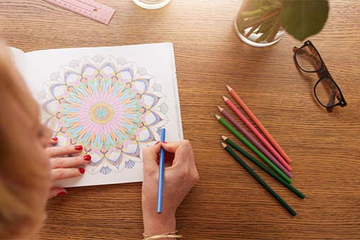 Image of Adult Coloring Book Company