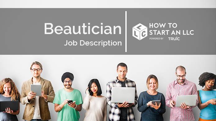 Beautician Job Description How To Start An LLC